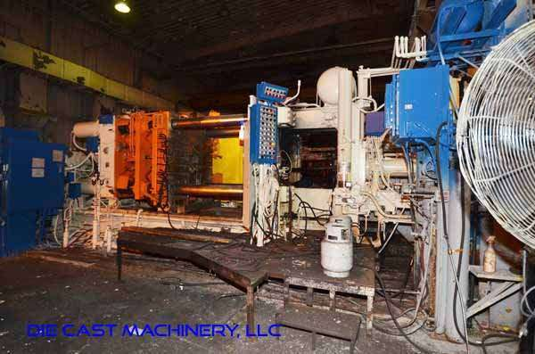 Picture of Prince Horizontal Cold Chamber Aluminum High Pressure Die Casting Machine DCMP-3347