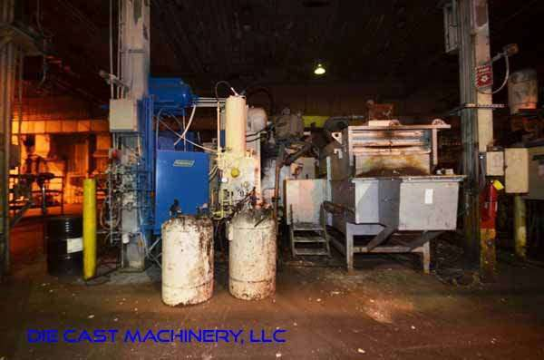 Image of Horizontal Cold Chamber Aluminum High Pressure Die Casting Machine For Sale DCM-3347