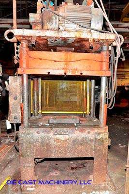 Picture of K.R. Wilson  Four Column (Post) Vertical Hydraulic Die Casting Trim Press For Sale DCMP-3418