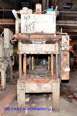 Picture of K.R. Wilson  Four Column (Post) Vertical Hydraulic Die Casting Trim Press For Sale DCMP-3420