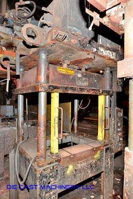 Picture of K.R. Wilson  Four Column (Post) Vertical Hydraulic Die Casting Trim Press For Sale DCMP-3421