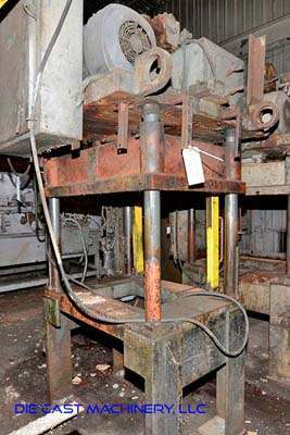 Picture of K.R. Wilson Four Column (Post) Vertical Hydraulic Die Casting Trim Press DCMP-3421
