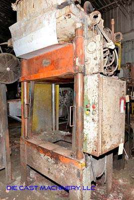 Picture of K.R. Wilson  Four Column (Post) Vertical Hydraulic Die Casting Trim Press For Sale DCMP-3422
