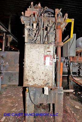 Image of Four Column (Post) Vertical Hydraulic Die Casting Trim Press For Sale DCM-3422