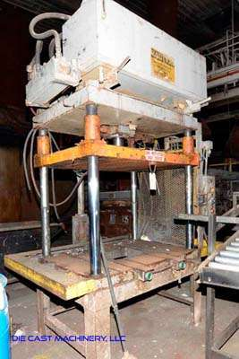 Picture of Metal Mechanics 50 Four Column (Post) Vertical Hydraulic Die Casting Trim Press For Sale DCMP-3430