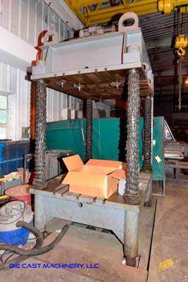 Picture of Dake Four Column (Post) Vertical Hydraulic Die Casting Trim Press DCMP-3481