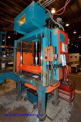 Picture of Metal Mechanics 50 Four Column (Post) Vertical Hydraulic Die Casting Trim Press For Sale DCMP-3511
