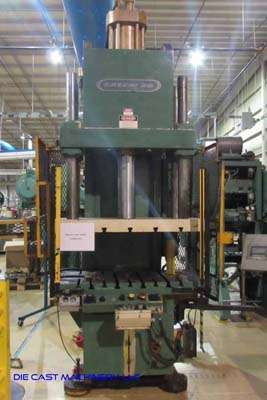 Picture of Greenerd HCA-100-57R27 C-Frame (Gap Frame) Vertical Hydraulic Die Cast Trimming Press For Sale DCMP-3525