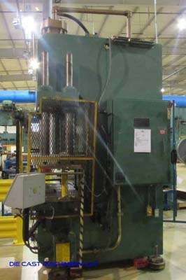 Picture of Greenerd C-Frame (Gap Frame) Vertical Hydraulic Die Cast Trimming Press DCMP-3525
