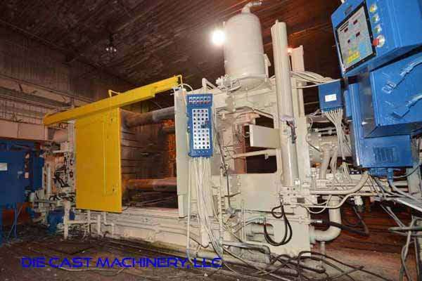Picture of Prince 1246 CCA Horizontal Cold Chamber Aluminum High Pressure Die Casting Machine For Sale DCMP-3544