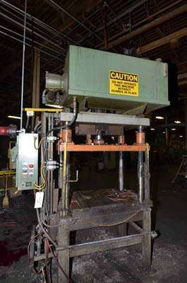 Picture of Metal Mechanics 35-T Four Column (Post) Vertical Hydraulic Die Casting Trim Press For Sale DCMP-3555