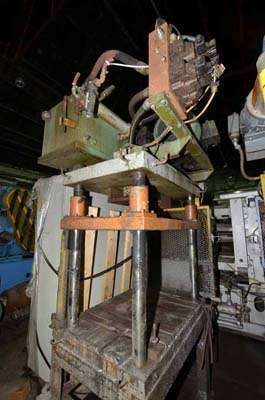 Picture of Metal Mechanics Four Column (Post) Vertical Hydraulic Die Casting Trim Press DCMP-3555