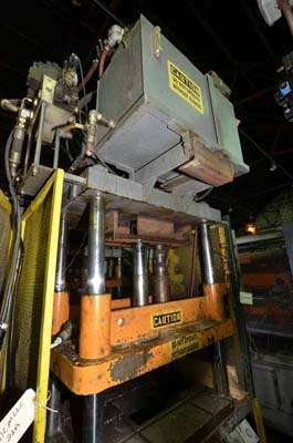 Picture of Southern Engineering 35-T Four Column (Post) Vertical Hydraulic Die Casting Trim Press For Sale DCMP-3556