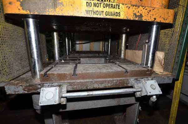 Image of Four Column (Post) Vertical Hydraulic Die Casting Trim Press For Sale DCM-3556