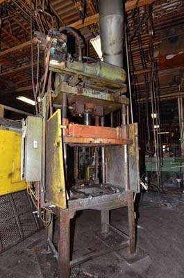Picture of Metal Mechanics 35-T Four Column (Post) Vertical Hydraulic Die Casting Trim Press For Sale DCMP-3558