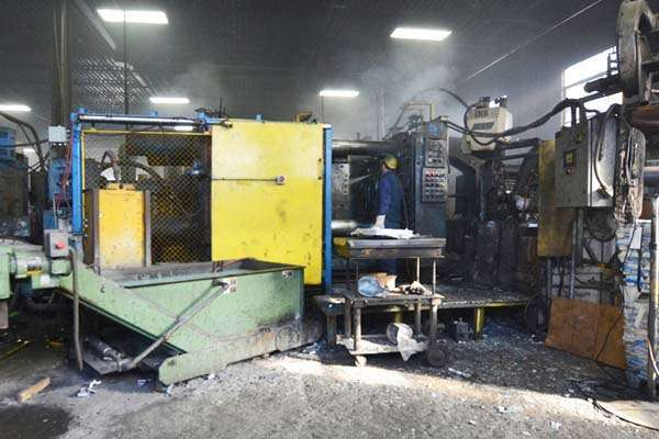 For Sale: One - Used - Prince 836 CCA 800 ton Die Cast Machine