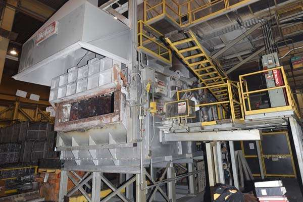 Picture of Modern Equipment Stack (tower/shaft) Type Stationary Aluminum Melting and Holding Furnace DCMP-3653
