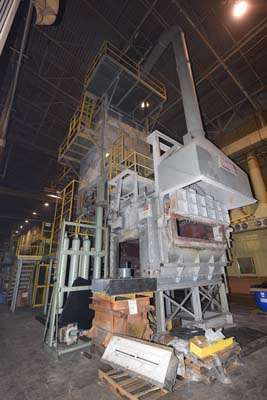 Image of Stack (tower/shaft) Type Stationary Aluminum Melting and Holding Furnace For Sale DCM-3653
