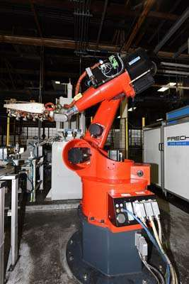 Picture of Reis RV60-60 Six Axis Foundry Rated Industrial Robot For Sale DCMP-3697