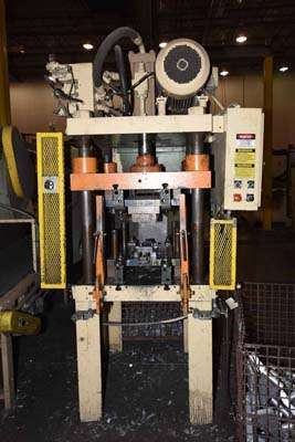 Picture of Die Cast Press Trim Press DCP-40 Four Column (Post) Vertical Hydraulic Die Casting Trim Press For Sale DCMP-3721