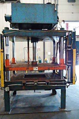 Picture of Metal Mechanics DCT-75 Four Column (Post) Vertical Hydraulic Die Casting Trim Press For Sale DCMP-3745