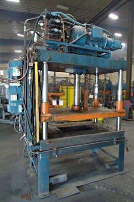 Picture of Metal Mechanics Four Column (Post) Vertical Hydraulic Die Casting Trim Press DCMP-3745