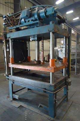 Image of Four Column (Post) Vertical Hydraulic Die Casting Trim Press For Sale DCM-3745