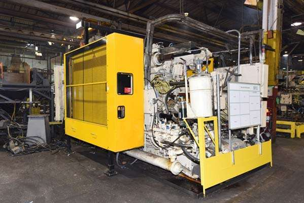 Image of Horizontal Cold Chamber Aluminum High Pressure Die Casting Machine For Sale DCM-3757