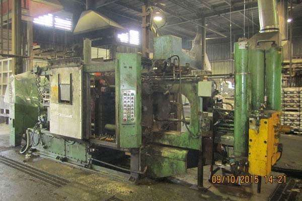 Picture of HPM II-400-A Horizontal Cold Chamber Aluminum High Pressure Die Casting Machine For Sale DCMP-3758