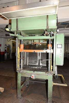 Picture of Metal Mechanics 20 Four Column (Post) Vertical Hydraulic Die Casting Trim Press For Sale DCMP-3840