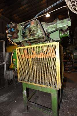 Image of Four Column (Post) Vertical Hydraulic Die Casting Trim Press For Sale DCM-3841