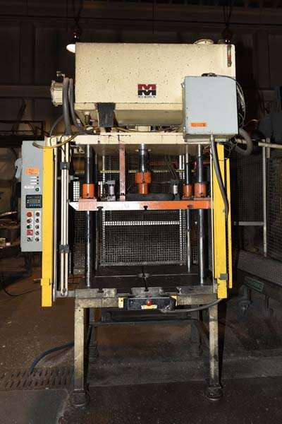 Picture of Metal Mechanics 20 Four Column (Post) Vertical Hydraulic Die Casting Trim Press For Sale DCMP-3842