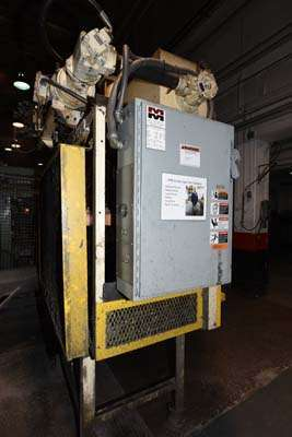 Image of Four Column (Post) Vertical Hydraulic Die Casting Trim Press For Sale DCM-3842