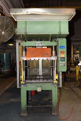 Picture of Metal Mechanics 25 Four Column (Post) Vertical Hydraulic Die Casting Trim Press For Sale DCMP-3843