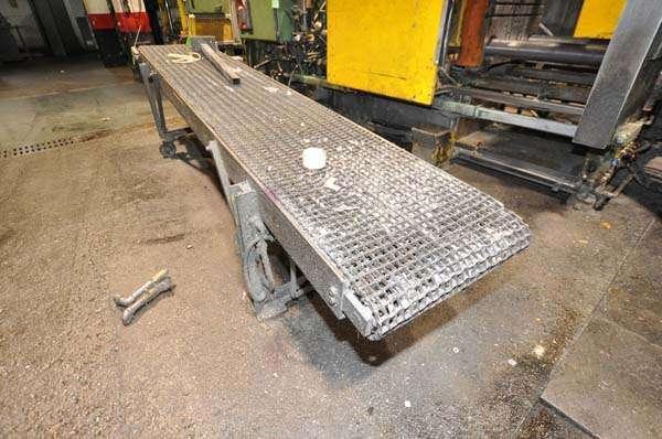 Used Rimrock Mesh Belt Type Parts Conveyor For Sale Dcm 3871