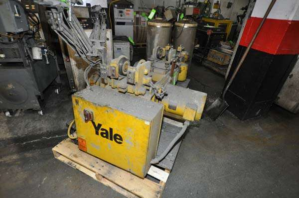 Used Yale Wire Rope Hoist with Trolley For Sale DCM-3915