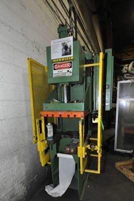 Picture of Hannifin Press GFTP-8 Guided Platen Gap Frame Hydraulic Trim Press For Sale DCMP-3932