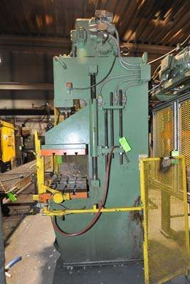Picture of Hannifin Press Guided Platen Gap Frame Hydraulic Trim Press DCMP-3933