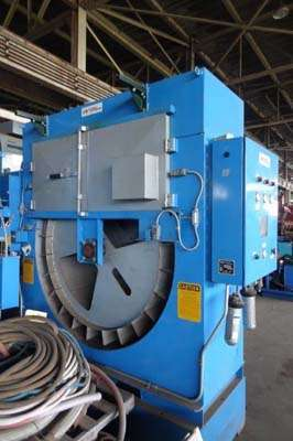 Picture of Dynarad RL-24R Electrically Heated Magnesium Ingot Preheater and Furnace Charging Unit For Sale DCMP-3972