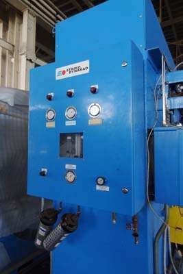 Picture of Dynarad Electrically Heated Magnesium Ingot Preheater and Furnace Charging Unit DCMP-3972