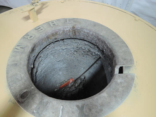 Picture of Thermtronix Electric Heated Silicon Carbide Crucible Type Aluminum Melting Furnace DCMP-4010