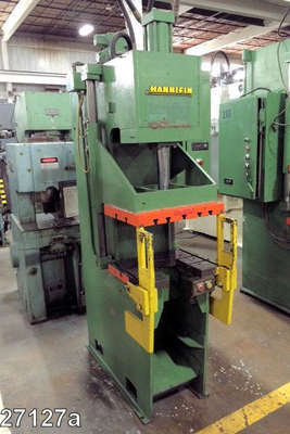 Picture of Hannifin Press OGF-12D C-Frame (Gap Frame) Vertical Hydraulic Die Cast Trimming Press For Sale DCMP-4041