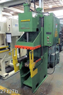 Picture of Hannifin Press C-Frame (Gap Frame) Vertical Hydraulic Die Cast Trimming Press DCMP-4041