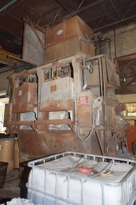 Picture of Striko Westofen MH II-N 1000/1000 G-eg Stack (tower/shaft) Type Stationary Aluminum Melting and Holding Furnace For Sale DCMP-4066