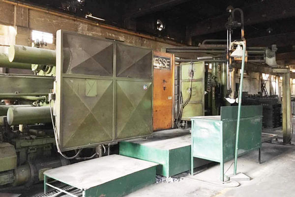 Picture of Italpresse Horizontal Cold Chamber Aluminum/Magnesium Capable High Pressure Die Casting Machine DCMP-4085