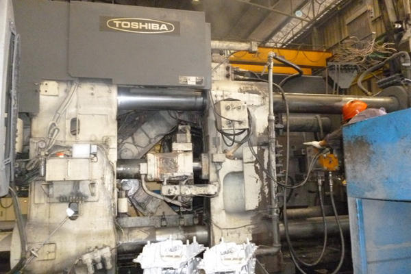 Picture of Toshiba DC 800 CL-T Horizontal Cold Chamber Aluminum High Pressure Die Casting Machine For Sale DCMP-4130