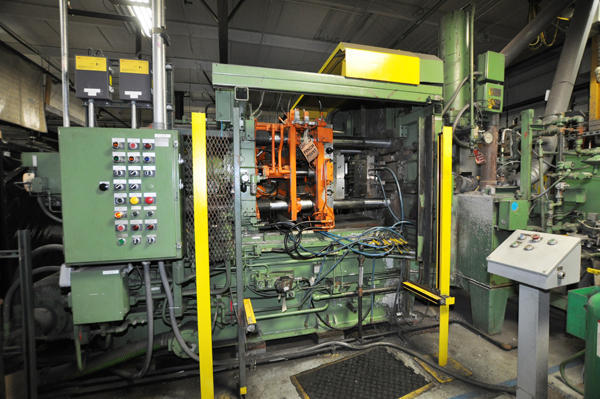 Picture of Prince  250 HCM Horizontal Hot Chamber Zinc (Zamak) High Pressure Die Casting Machine For Sale DCMP-4136