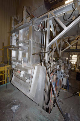 Image of Stack (tower/shaft) Type Stationary Aluminum Melting and Holding Furnace For Sale DCM-4143