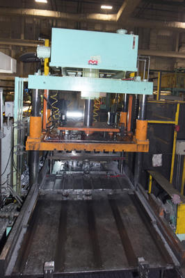 Picture of Metal Mechanics MM-100-TP Four Column (Post) Vertical Hydraulic Die Casting Trim Press For Sale DCMP-4157