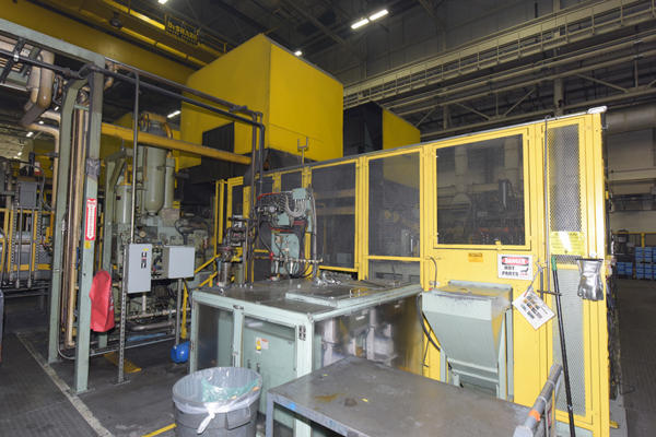 Toshiba DC 800J-MS, 800 Ton Cold Chamber Die Cast Machine - New in 2006